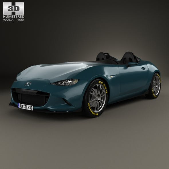 Mazda MX-5 Spyder 2015 - 3DOcean Item for Sale