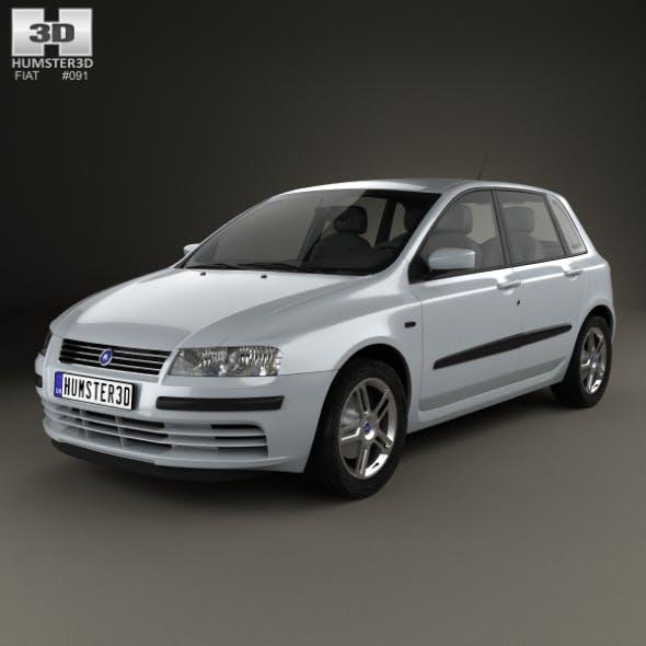 Fiat Stilo 5-door 2001 - 3DOcean Item for Sale