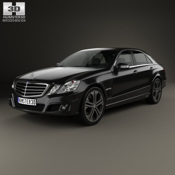 Mercedes-Benz E-Class Brabus 2010 - 3DOcean Item for Sale