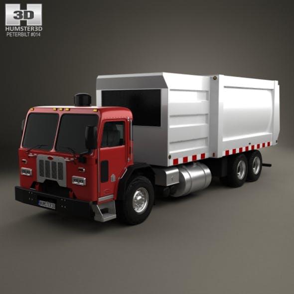Peterbilt 320 Garbage Truck 2008 - 3DOcean Item for Sale