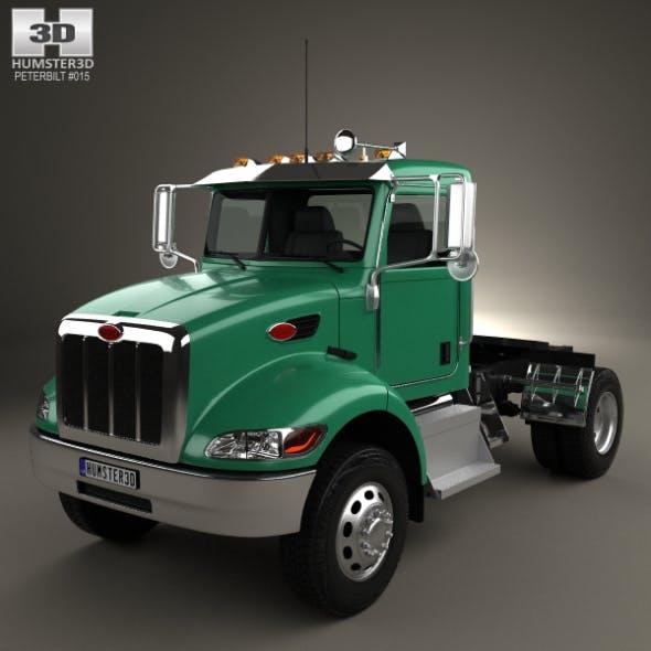 Peterbilt 335 HE Tractor Truck 2008 - 3DOcean Item for Sale
