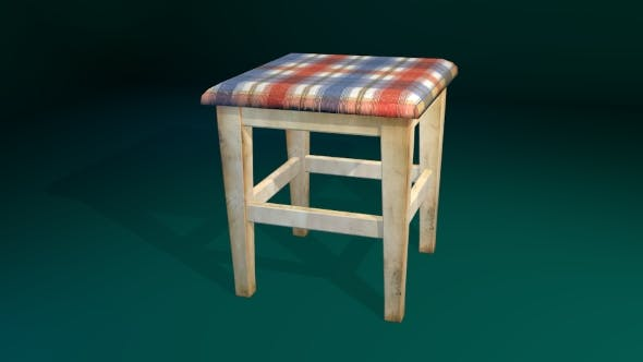 Stool Chair - 3DOcean Item for Sale
