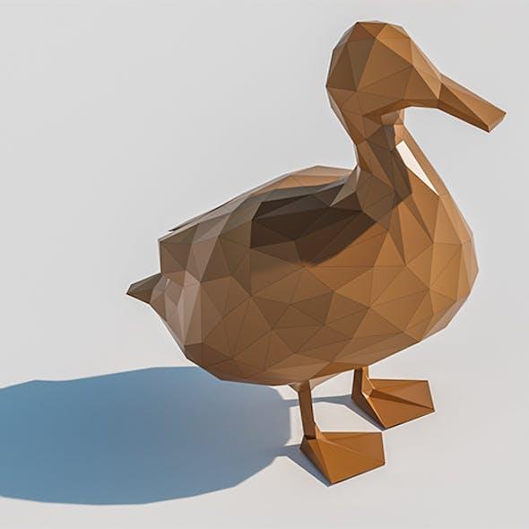 Lowpoly Duck 001