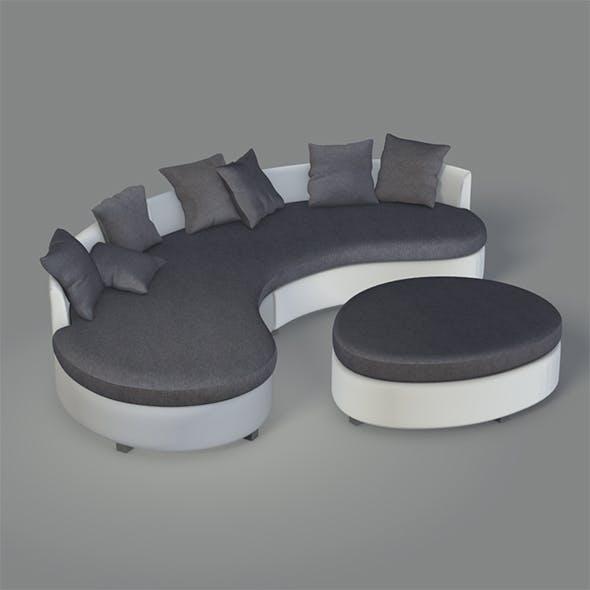 Modern Round Couch