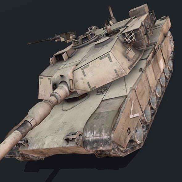 M1A1 Abrams - 3DOcean Item for Sale