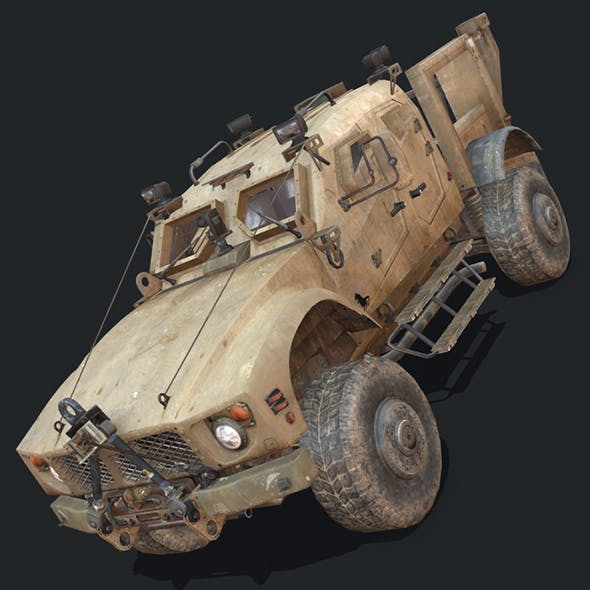 MRAP M-ATV - 3DOcean Item for Sale