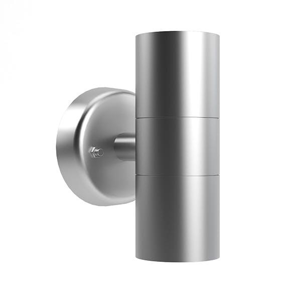 Modern Wall Exterior Lamp 3D Model - 3DOcean Item for Sale