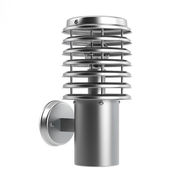 Wall Exterior Lamp 3D Model - 3DOcean Item for Sale