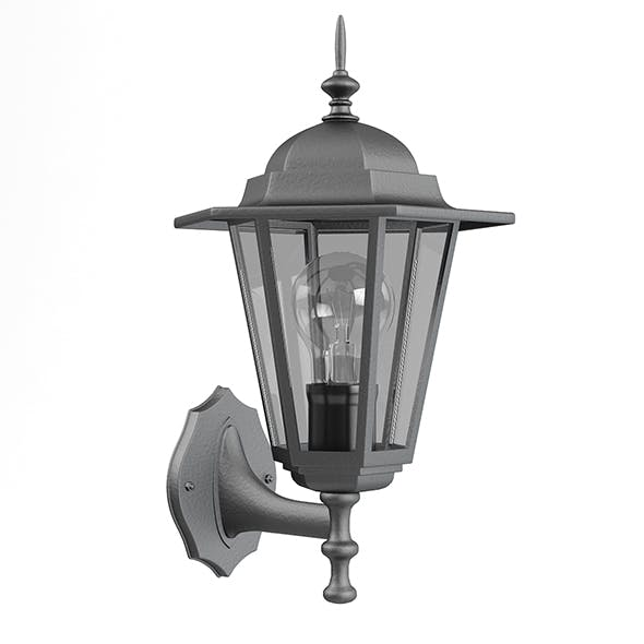 Classic Wall Exterior Lamp 3D Model - 3DOcean Item for Sale