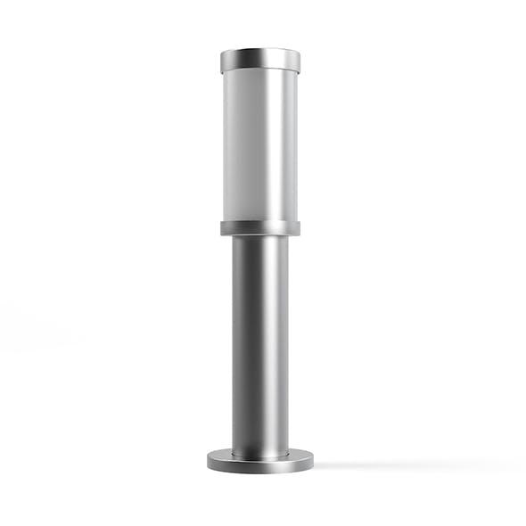 Standing Exterior Lamp 3D Model