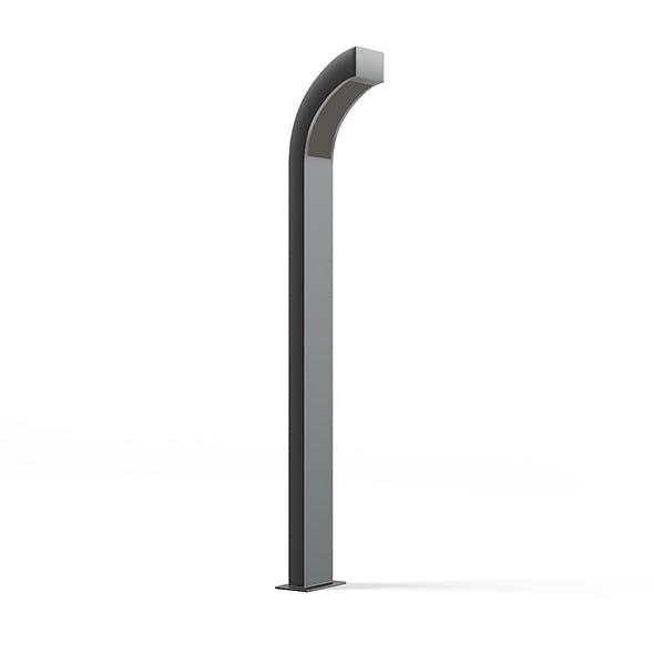 Modern Exterior Standing Lamp 3D Model