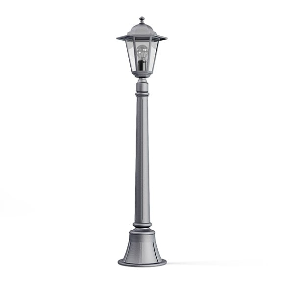Park Lantern 3D Model - 3DOcean Item for Sale