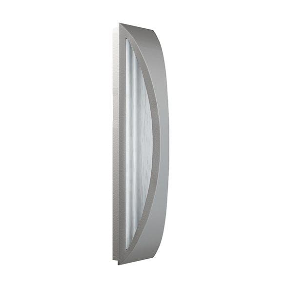 Modern Wall Exterior Lamp 3D Model