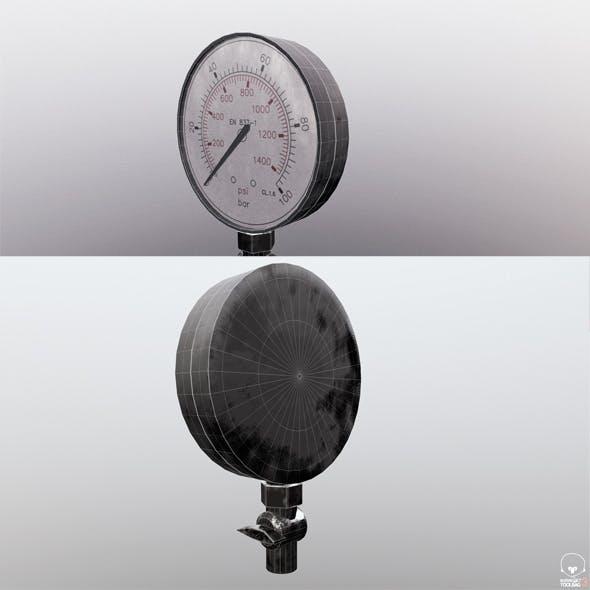 Manometer - 3DOcean Item for Sale
