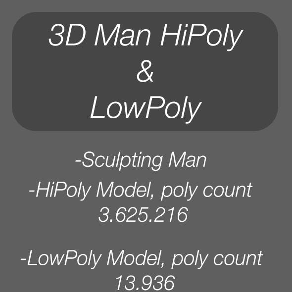 3D Sculpting Man