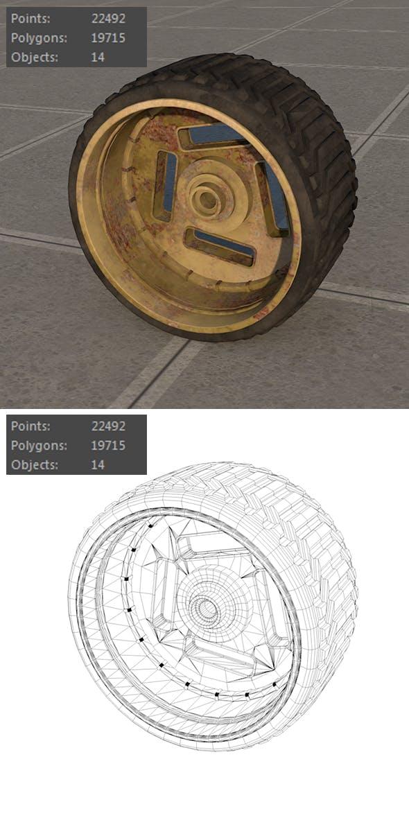 Wheel space vehicles - 3DOcean Item for Sale