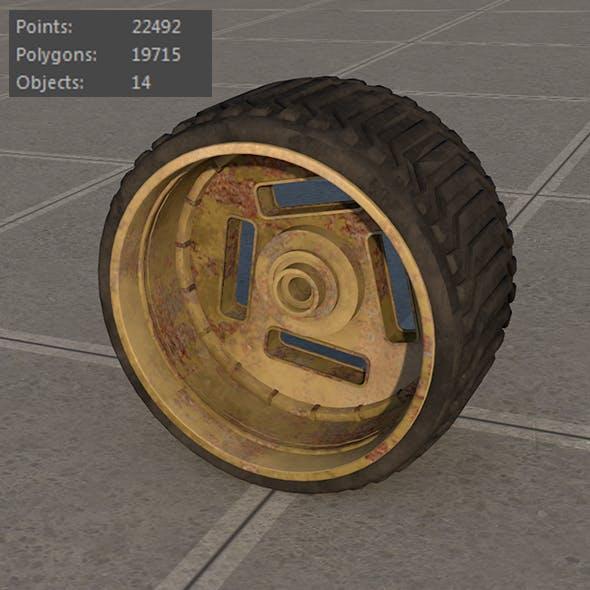 Wheel space vehicles
