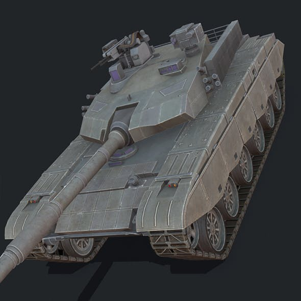 Type ZTZ-99 - 3DOcean Item for Sale