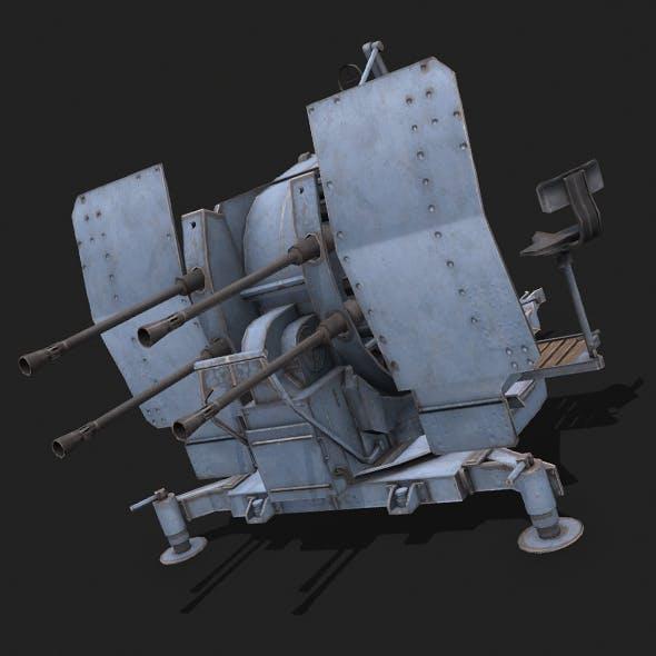 Flakvierling 38 - 3DOcean Item for Sale