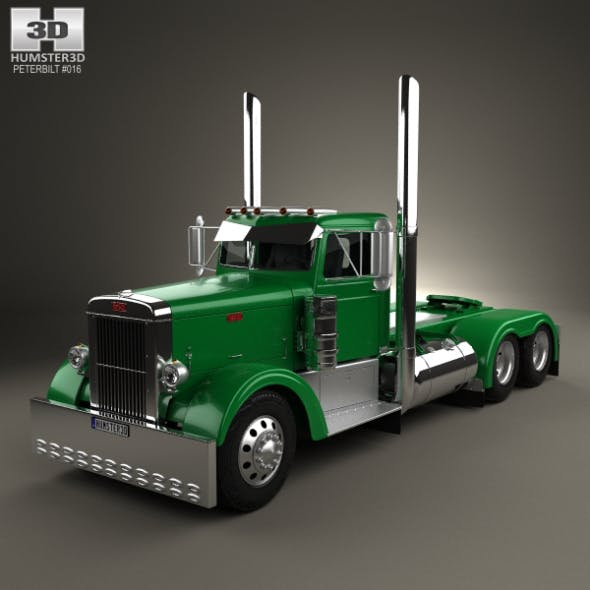 Peterbilt 351 Tractor Truck 1954 - 3DOcean Item for Sale