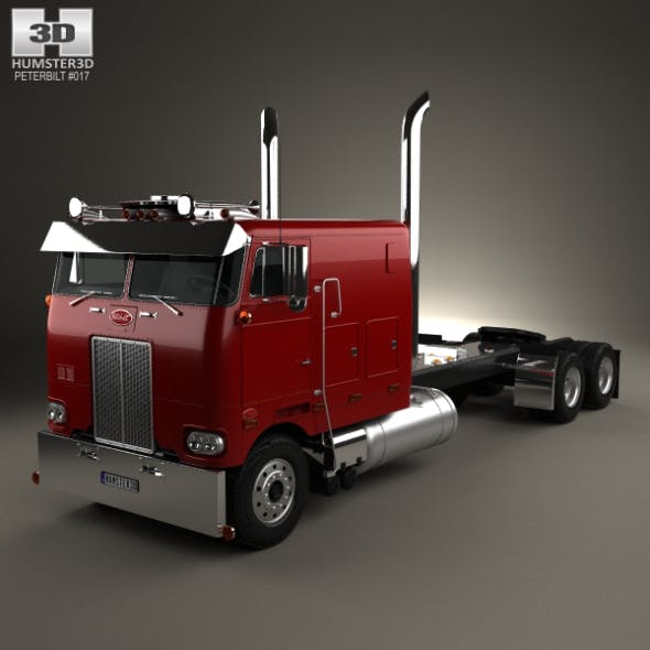 Peterbilt 352 Tractor Truck 1969 - 3DOcean Item for Sale