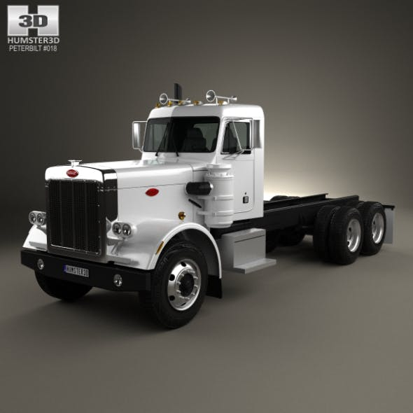 Peterbilt 359 Chassis Truck 1967 - 3DOcean Item for Sale