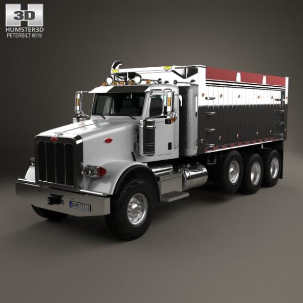 Peterbilt 367 Dump Truck 2007 - 3DOcean Item for Sale