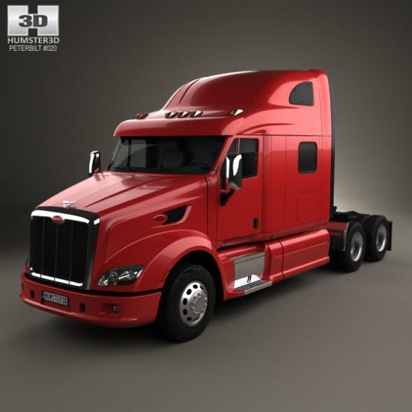 Peterbilt 587 Tractor Truck 2010