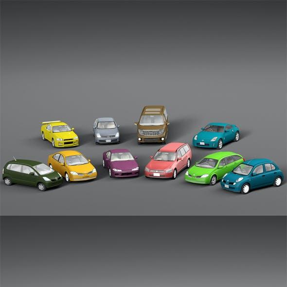 Vehicle Packs cars Nissan