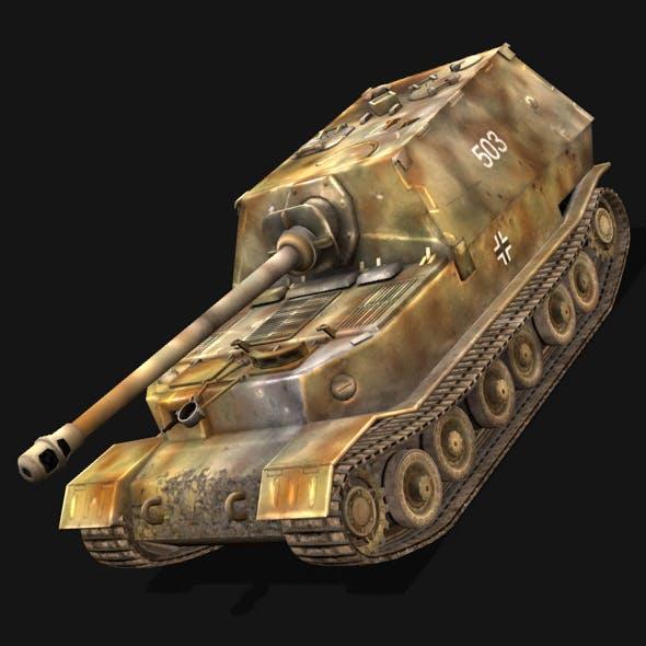 Elephant tank - 3DOcean Item for Sale