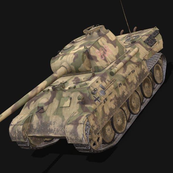 Panzer V Panther - 3DOcean Item for Sale