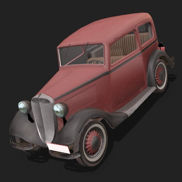 Fiat508 - 3DOcean Item for Sale