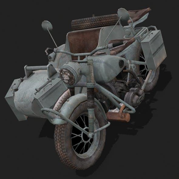 Motorbike Zundapp KS750