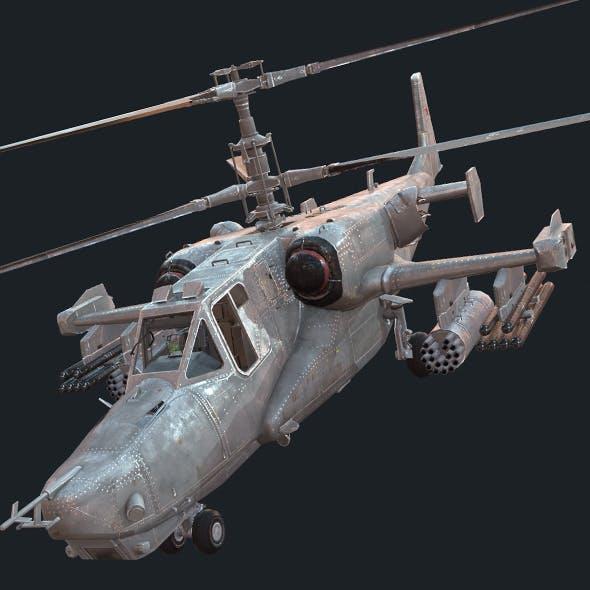 Kamov KA-50s