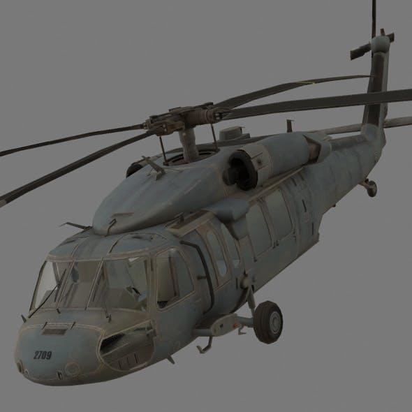 UH-60 Black Hawk - 3DOcean Item for Sale