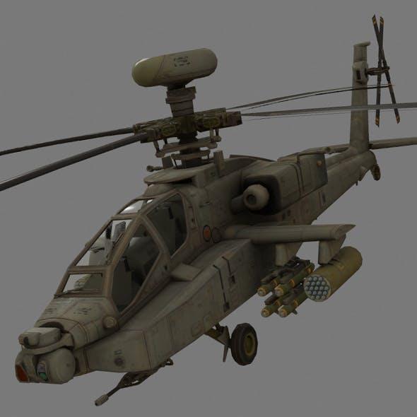 AH-64 Apache - 3DOcean Item for Sale