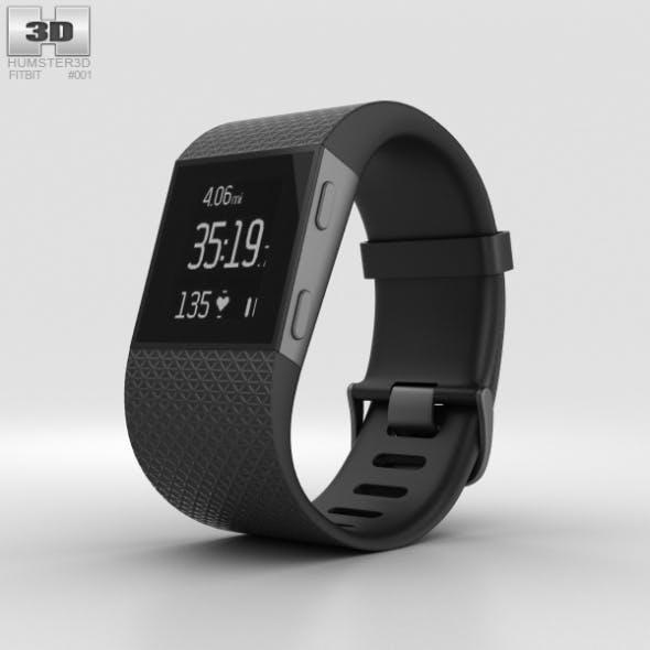 Fitbit Surge Black - 3DOcean Item for Sale