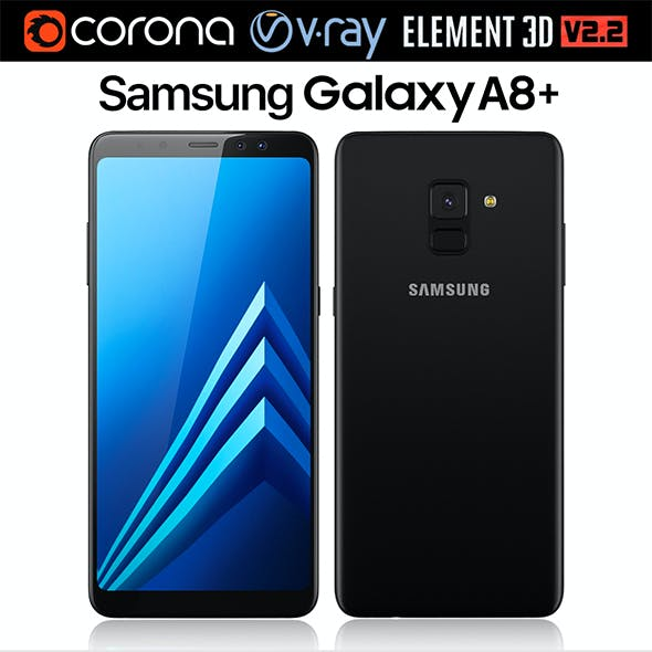 Samsung Galaxy A8 PLUS Black
