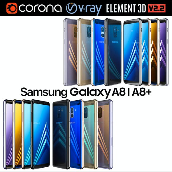 Samsung Galaxy A8 and A8 PLUS COLLECTION