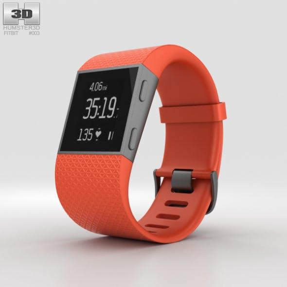 Fitbit Surge Tangerine - 3DOcean Item for Sale