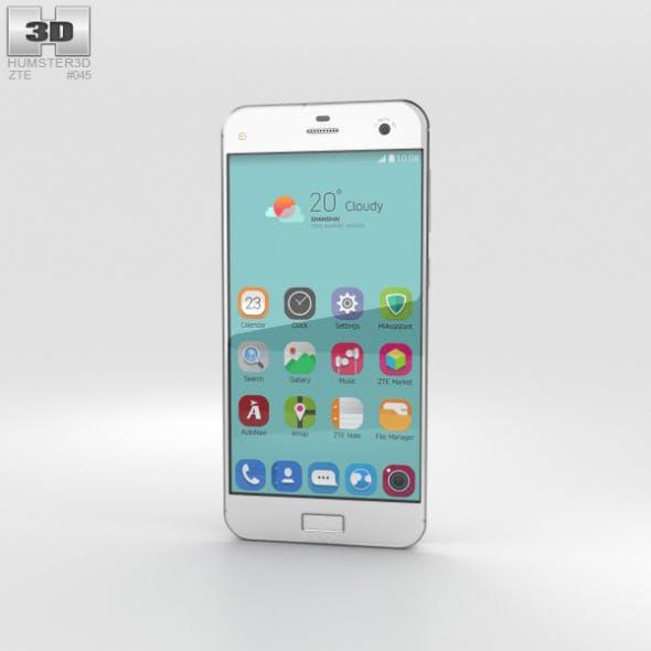 ZTE Blade S7 Diamond White - 3DOcean Item for Sale