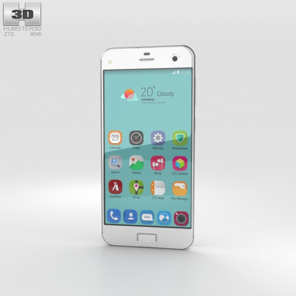 ZTE Blade S7 Diamond White