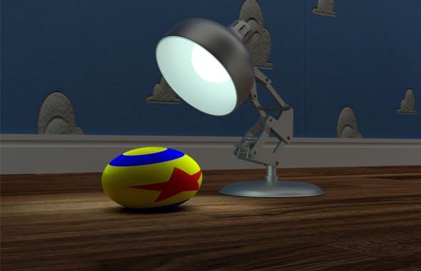 Luxor Lamp - 3DOcean Item for Sale