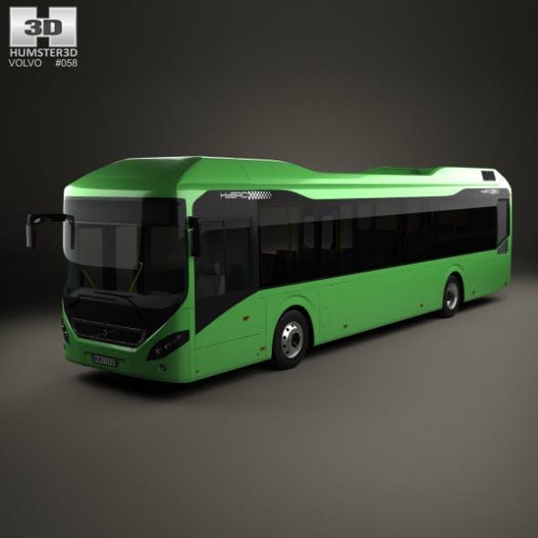 Volvo 7900 Hybrid Bus 2011