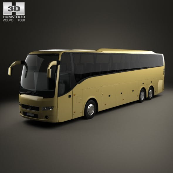 Volvo 9900 Bus 2007 - 3DOcean Item for Sale
