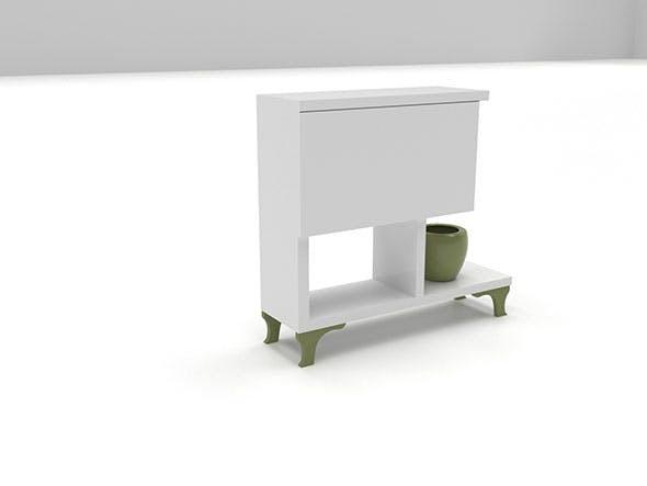 Corona bedside table - 3DOcean Item for Sale