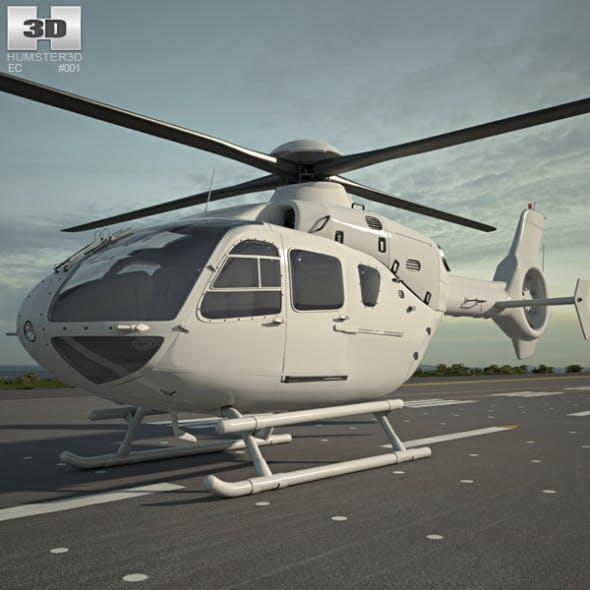 Eurocopter EC135 - 3DOcean Item for Sale