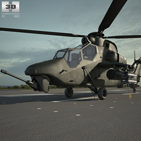 Eurocopter Tiger - 3DOcean Item for Sale