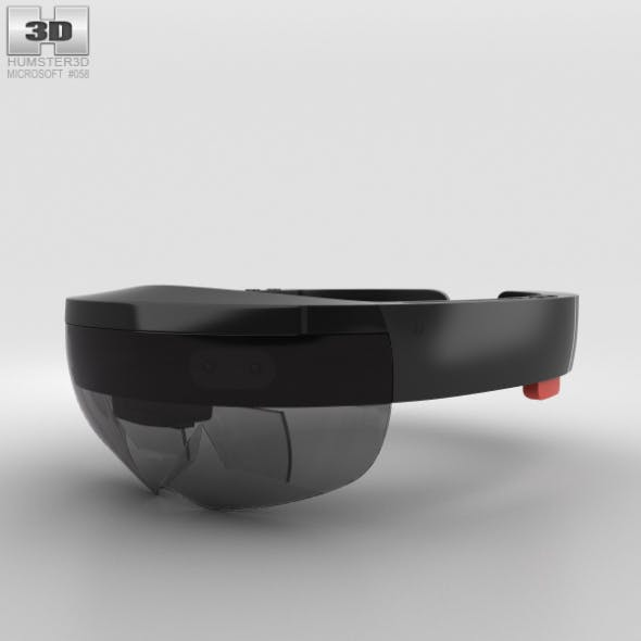 Microsoft HoloLens - 3DOcean Item for Sale