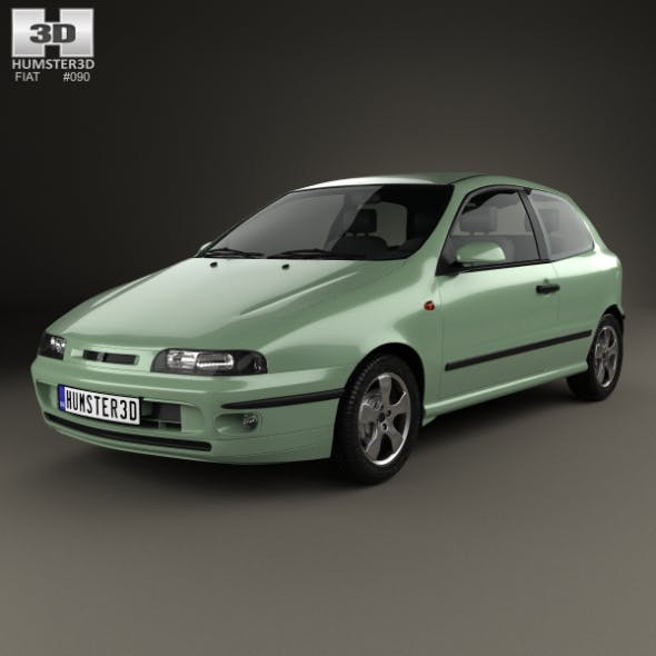 Fiat Bravo 1995 - 3DOcean Item for Sale